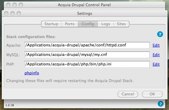 Acquia Settings